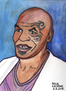 Cartoon: Mike Tyson (small) by Pascal Kirchmair tagged illustration boxen iron mike tyson boxer cartoon caricature portrait karikatur vignetta weltmeister schwergewicht heavyweight boxing champion brooklyn new york city usa