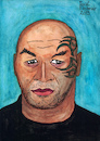 Cartoon: MIKE TYSON (small) by Pascal Kirchmair tagged iron mike tyson illustration drawing zeichnung pascal kirchmair cartoon caricature karikatur ilustracion dibujo desenho ink disegno ilustracao illustrazione illustratie dessin de presse du jour art of the day tekening teckning cartum vineta comica vignetta caricatura portrait retrato ritratto portret kunst humorist humourist boxing boxer heavyweight champion brooklyn new york city schwergewicht weltmeister world usa