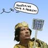 Cartoon: Lord of the Flies (small) by Pascal Kirchmair tagged herr,der,fliegen,lord,sa,majeste,des,mouches,houston,we,have,problem,wir,haben,ein,gadhafi,gaddafi,muammar,al,tripoli,tripolis,libyen,libye,libya,krieg,war,guerre,guerra