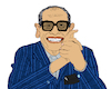 Cartoon: Naguib Mahfouz II (small) by Pascal Kirchmair tagged naguib,mahfouz,nagib,mahfuz,illustration,drawing,zeichnung,pascal,kirchmair,cartoon,caricature,karikatur,ilustracion,dibujo,desenho,ink,disegno,ilustracao,illustrazione,illustratie,dessin,de,presse,du,jour,art,of,the,day,tekening,teckning,cartum,vineta,comica,vignetta,caricatura,portrait,retrato,ritratto,portret,kunst,writer,author,autor,autore,auteur,schriftsteller,cairo,egypt,ägypten,egitto,kairo,nobel,prize,literature,literatur,premio,prix,literatura,nobelpreis