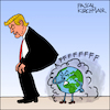 Cartoon: Paris climate agreement (small) by Pascal Kirchmair tagged donald,trump,farts,paris,climate,change,agreement,cartoon,caricature,karikatur,illustration,vignetta,dibujo,dessin,drawing,desenho,disegno