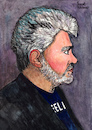 Cartoon: Pedro Almodovar (small) by Pascal Kirchmair tagged pedro almodovar portrait retrato caricatura karikatur dibujo desenho drawing zeichnung pascal kirchmair dessin ritratto disegno caricature cartoon ilustracion illustration illustrazione ilustracao illustratie tekening teckning cartum vignetta vineta comica