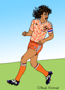 Cartoon: Ruud Gullit (small) by Pascal Kirchmair tagged ruud,gullit,cartoon,caricature,karikatur,pascal,kirchmair,dibujo,desenho,dessin,drawing,zeichnung,humour,humor,vignetta,vineta,comica,holland,olanda,holanda,netherlands,nederlanden,fußball,soccer,foot,footbal,futebol,futbol,uefa,euro,88,1988,illustration