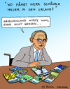 Cartoon: Schäuble (small) by Pascal Kirchmair tagged finanzminister,wolfgang,schäuble,karikatur,grexit,caricature,cartoon,dessin,vignetta,cdu,deutschland,griechenland,greece,germany