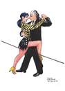 Cartoon: Sexy Tango Argentino (small) by Pascal Kirchmair tagged tango,argentino,buenos,aires,dibujo,cartoon,caricature,karikatur,sexy,hot,sex,appeal,dessin,zeichnung,illustration
