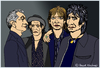 Cartoon: The Rolling Stones (small) by Pascal Kirchmair tagged rolling,stones,mick,jagger,keith,richards,ronnie,wood,charlie,watts,cartoon,caricature,karikatur,portraits,dibujo,retratos,zeichnung,illustration,drawing,dessin,desenho,disegno