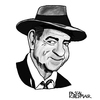 Cartoon: Walter Matthau (small) by Pascal Kirchmair tagged walter,matthau,karikatur,caricature,knautschgesicht,cartoon,actor,acteur,schauspieler,hollywood,usa,new,york