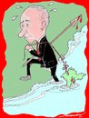 Cartoon: catch of the day (small) by kar2nist tagged putin,russia,cremia,war