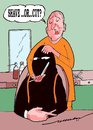 Cartoon: shave or cut (small) by kar2nist tagged shave,haircut,barber,terrorist
