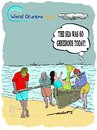 Cartoon: World Oceans Day June 8th (small) by kar2nist tagged world,oceans,sea,fishes,fishermen,mermaids