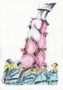 Cartoon: onion tribute (small) by axinte tagged axinte