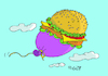 Cartoon: bigmac (small) by mitya_kononov tagged mityacartoon