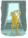 Cartoon: cat (small) by mitya_kononov tagged cat