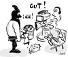 Cartoon: Cut ! (small) by berti tagged schnitt,cut,film,regie,gimp