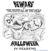 Cartoon: Festival of the Dead - Halloween (small) by kullatoons tagged halloween,ghosts,dead,scary,zombie,blood,gore,horror