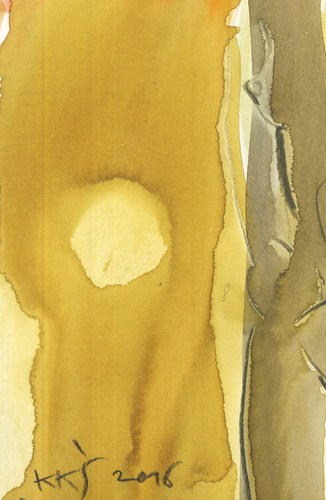 Cartoon: Desert Sun (medium) by Kestutis tagged dada,postcard,liner,sketch,desert,sun,art,kunst,kestutis,lithuania