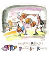Cartoon: Basketball and Boxing (small) by Kestutis tagged sport,basketball,boxing,kestutis,lithuania