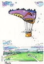 Cartoon: FOOTBALL (small) by Kestutis tagged balloon,football,soccer,fussball,fußball,2012,euro,summer