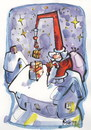 Cartoon: MERRY CHRISTMAS! (small) by Kestutis tagged merry,christmas,frohe,weihnacht,happy,new,year,weihnachtsmann,santa,claus