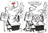 Cartoon: NOW MUCH BETTER! (small) by Kestutis tagged now,much,better,bar,tasse,becher,cup,glass,happening