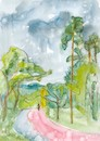 Cartoon: Sketch art. Summer plein airs 3 (small) by Kestutis tagged sketch,art,kunst,summer,plein,airs,kestutis,lithuania