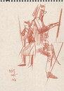 Cartoon: Sketch. Artists draw (small) by Kestutis tagged sketch,art,kunst,kestutis,lithuania