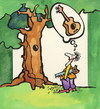 Cartoon: SOLUTION (small) by Kestutis tagged tree,nature,guitar,solution,human,summer,kestutis,lithuania