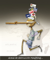 Cartoon: PINOCHO (small) by OTORONGO tagged medios mentiras