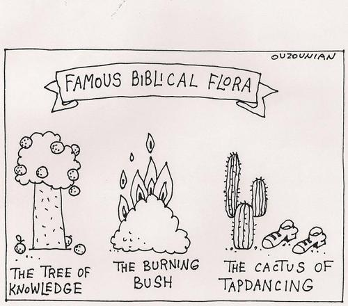 Cartoon: bible stuff (medium) by ouzounian tagged religion,bible