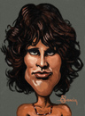 Cartoon: Jim Morrison (small) by cristianst tagged the doors