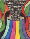Cartoon: distress (small) by odinelpierrejunior tagged abstract,paintings,drawings,images,art