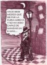 Cartoon: SE FUE LA MIREYA (small) by HCATALAN tagged tango,email,mail,guapo,abandono