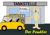 Cartoon: der Pendler (small) by RiwiToons tagged benzinpreis,tankstelle,aral,total,bp,shell,jet,mineralöl,mineralölfirmen,benzinpreiserhöhung,mineralölsteuer,benzin,diesel,pendler