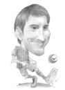 Cartoon: Lionel Messi (small) by areztoon tagged barcelona,leo,messi,barca,caricature,toon
