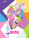 Cartoon: Pink on WPAP (small) by areztoon tagged pink,wpap
