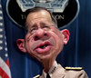 Cartoon: Admiral Mike Mullen CJCS (small) by RodneyPike tagged admiral,mike,mullen,cjcs,art,caricature,humor,illustration,manipulation,photo,photomanipulation,photoshop,pike,rodney,rwpike,digital,graphic,celebrity,political,satire