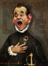 Cartoon: Bill Murray by El Greco (small) by RodneyPike tagged bill,murray,caricature,illustration,rwpike,rodney,pike
