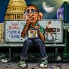 Cartoon: A Parody (small) by RodneyPike tagged barack,omama,president,caricature,illustration,photoshop,photo,manipulation