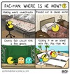 Cartoon: Where is he now? (small) by a zillion dollars comics tagged video,games,technology,entertainment,nostalgia,retro