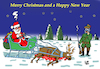 Cartoon: Santa Claus (small) by Vejo tagged santa claus christmas