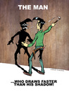 Cartoon: faster than my shadow! (small) by Arne S Reismueller tagged lucky,luke