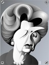 Cartoon: Margaret Thatcher (small) by spot_on_george tagged margaret thatcher iron lady caricature