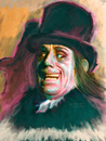 Cartoon: Lon Chaney Sr. (small) by McDermott tagged lonchaneys,horrormovies,monster,scary,movies,silentmovies,makeup
