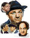 Cartoon: The 3 Stooges (small) by McDermott tagged stooges,moelarrycurly,shemp,comedy,shorts,mcdermott