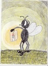 Cartoon: Lantern for fire fly (small) by cristian constandache tagged cristian constandache student kid boy free academy graphic art paula salar romania eu world humanity leran draw cartoon cartoonist gallery lantern for fire fly freedom sky god good tv pc ink watercolor pencil pen network newspaper interview talented geniu