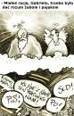 Cartoon: - (small) by to1mson tagged politics,polityka,gabriel,god,gott,bog
