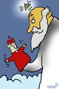 Cartoon: ... (small) by to1mson tagged kirche,gott,bog,god,kosciol
