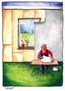 Cartoon: ... (small) by to1mson tagged window,fenster,okno