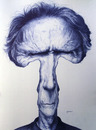 Cartoon: Clint Eastwood (small) by manohead tagged caricatura manohead caricature