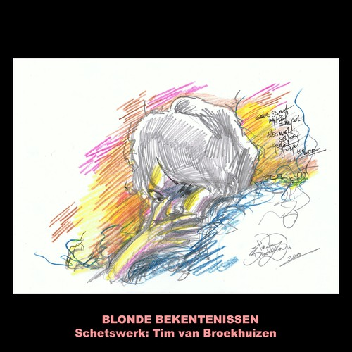 Cartoon: Blonde Bekentenissen Sketches 5 (medium) by Age Morris tagged aboutloveandlife,blondeconfessions,blondebekentenissen,tags,agemorris,victorzilverberg,schets,akiokomori,sketch,timvanbroekhuizen